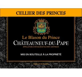Cellier des Princes - Le Blason du Prince label
