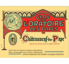Clos de L'Oratoire des Papes - Red label