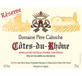 Domaine Pere Caboche- Cotes-du-Rhone- Reserve- Red