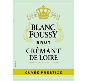 Blanc Foussy - Cremant De Loire Brut label
