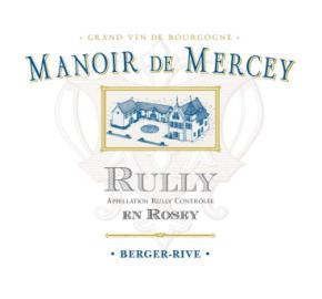 Manoir de Mercey -En Rosey label