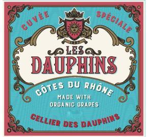 Les Dauphins - Cotes Du Rhone- Organic label