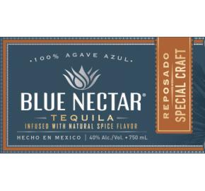 Blue Nectar - Reposado Special Craft Tequila label