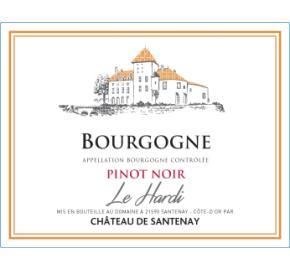Chateau de Santenay - Le Hardi  Pinot Noir label