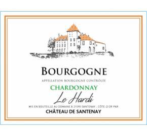 Chateau de Santenay - Chardonnay Le Hardi label