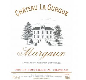 Chateau La Gurgue label
