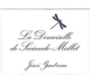 La Demoiselle de Sociando-Mallet label