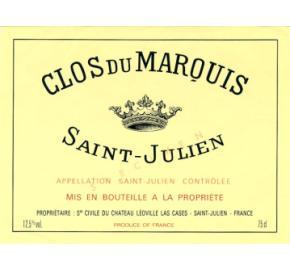 Clos du Marquis (Ch. Leoville Las Cases) label