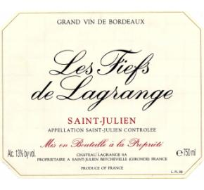Les Fiefs de Lagrange label