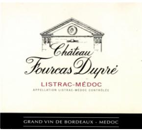 Chateau Fourcas Dupre label
