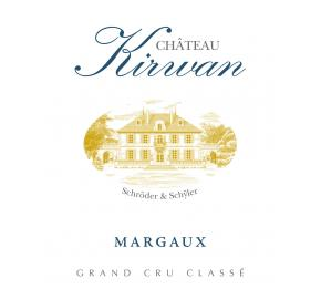 Chateau Kirwan label