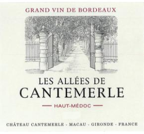 Les Allees De Cantemerle label