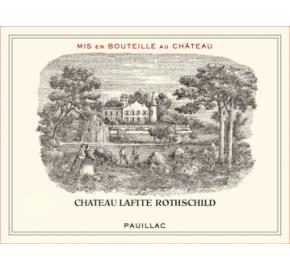 Chateau Lafite-Rothschild label