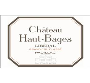 Chateau Haut-Bages Liberal label