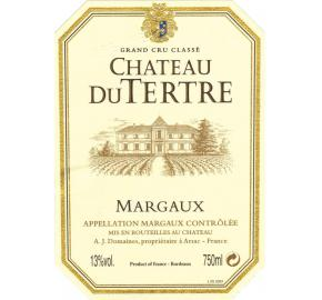Chateau Du Tertre label