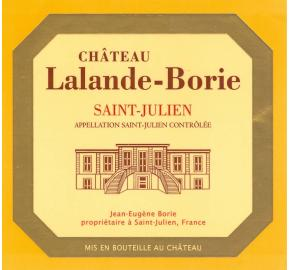 Chateau Lalande-Borie (From Ducru-Beaucaillou)
