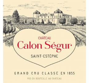 Chateau Calon Segur label