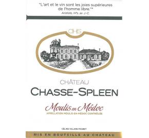 Chateau Chasse-Spleen label