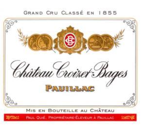 Chateau Croizet-Bages label