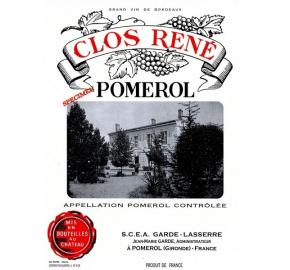Clos Rene label