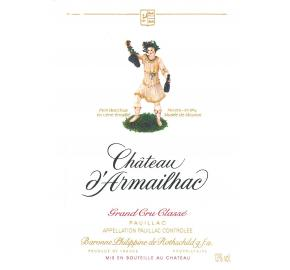 Chateau D'Armailhac label