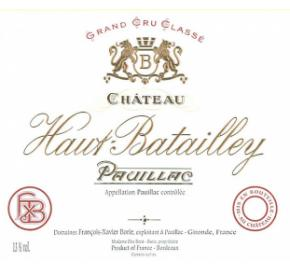 Chateau Haut-Batailley label