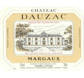 Chateau Dauzac label
