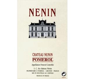 Chateau Nenin label