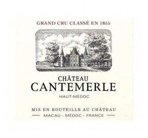 Chateau Cantemerle label