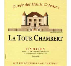 Chateau La Tour Chambert label