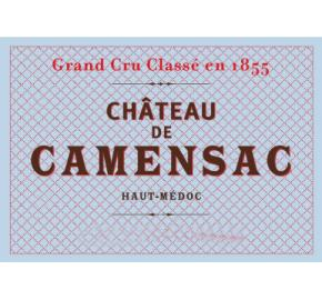 Chateau Camensac label