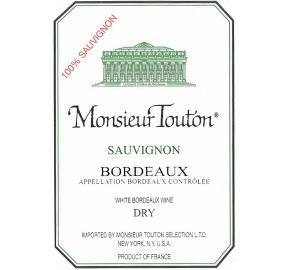 Monsieur Touton - Sauvignon Blanc label