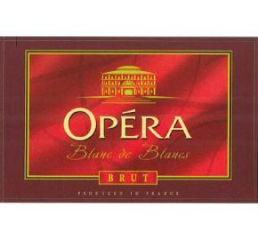Opera - Brut - Blanc de Blancs label