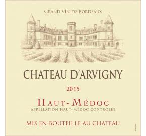 Chateau D'Arvigny label