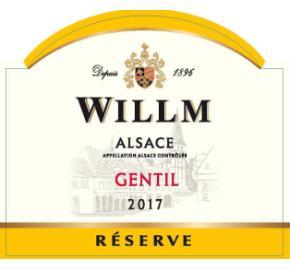 Alsace Willm - Gentil - Reserve