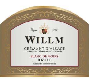 Alsace Willm - Brut Cremant Blanc de Noirs label