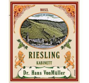 Dr. Hans VonMuller - Riesling Kabinett