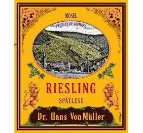 Dr. Hans VonMuller - Riesling Spatlese