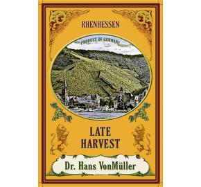 Dr. Hans VonMuller - Late Harvest label