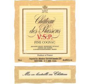 Chateau Des Plassons - Estate Bottled VSP Cognac
