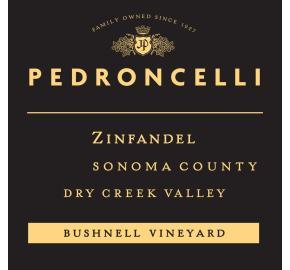 Pedroncelli - Zinfandel - Bushnell Vineyard