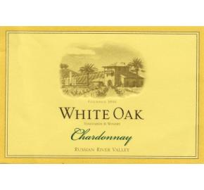 White Oak - Russian River Valley - Chardonnay