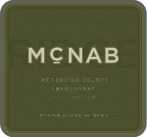 McNab Ridge - Chardonnay label