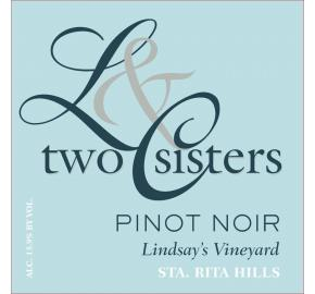 Two Sisters - Pinot Noir - Lindsay's Vineyard
