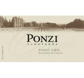 Ponzi Vineyards - Willamette Valley - Pinot Gris
