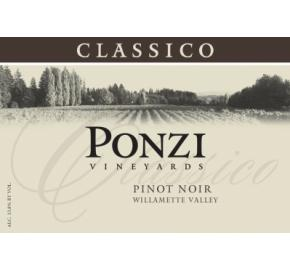 Ponzi Vineyards - Willamette Valley - Pinot Noir Classico