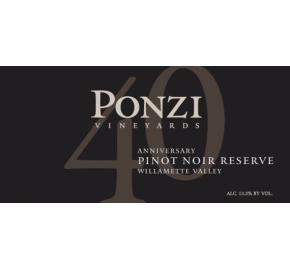Ponzi Vineyards - Willamette Valley - Pinot Noir Reserve