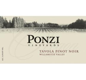 Ponzi Vineyards - Willamette Valley - Tavola Pinot Noir