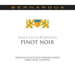Bernardus Winery - Pinot Noir - Santa Lucia Highlands