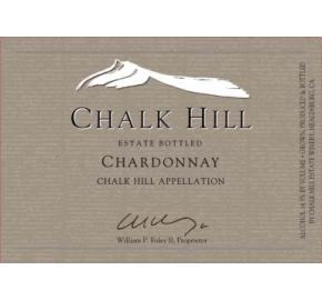 Chalk Hill - Estate Chardonnay